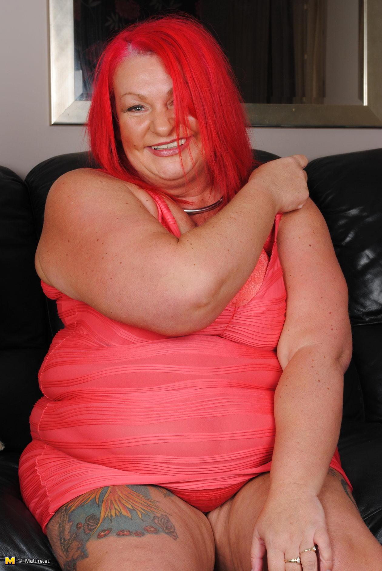 porn bbw mature eu big mature redhead